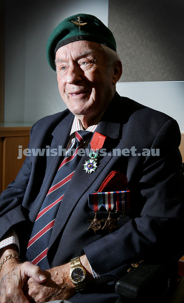 WWII veteran John Waxman received France's highest military award - Légion d'Honneur in a ceremony earlier today.