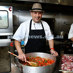 Visiting Israeli Chef Yossi Bendayan in Sydney for Yom Haatzmaut. Pictured at OBK.