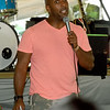 Fred Palmer, Jr. urges guests to not take freedom for granted during opening ceremonies on Friday night for the annual Emancipation Park Days at Ewert Park. The three-day event featured music, games, food and more.