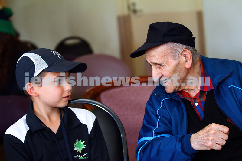 18-1-15. Melbourne Junior carnival. Community Day. Emmy Monash Aged Care. Photo: Peter Haskin