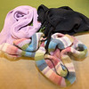 "Three scraves collected for the Unity of Joplin ""Chase the Chill"" program lay on a table at the church on Monday. Scarves, gloves and hats will be placed throughout the city for those in need to use beginning on Dec. 8. The church hopes to collect about 500 items.<br /> Globe 