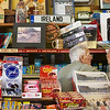 Globe/Roger Nomer<br /> Forrest Nelson get a postcard for a customer at Nelson's Old Riverton Store on Monday morning.