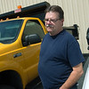 Globe/Roger Nomer<br /> Bobby Johnson, fleet maintenance supervisor, talks on Wednesday about vehicles for sale at the Surplus Auction.