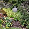 BEN GARVER — THE BERKSHIRE EAGLE<br /> The landscape at the Berkshire Botanical Garden is budding and blossoming into spring and out of winter,  Monday, April 27, 2020. THis is the Vista Garden.