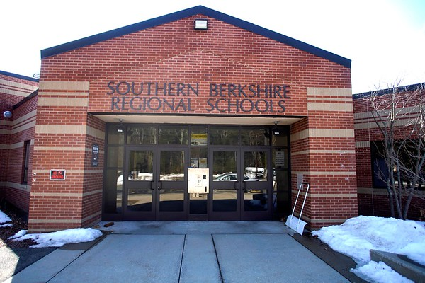 BEN GARVER — THE BERKSHIRE EAGLE<br /> South Berkshire Regional School, Thursday, March 14, 2019.