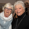"""Patti Dion of Salem and Christine Barnes of Swampscott enjoy the """"Night Fever!,"""" fundraiser for Lynn Museum/ LynnArts on Friday."""