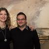 "Lauren Carr and Clint Muche, both of Lynn, enjoy the ""Night Fever!,"" fundraiser for Lynn Museum/ LynnArts on Friday."