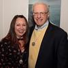 "Donna Goodwin and President of Lynn Museum Joe Scanlon, both of Lynn, enjoy the ""Night Fever!,"" fundraiser for Lynn Museum/ LynnArts on Friday."