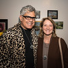 """Rodolfo Vega and Julia Greene, both of Lynn, enjoy the """"Night Fever!,"""" fundraiser for Lynn Museum/ LynnArts on Friday."""