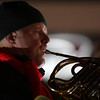 Lynnfield, Ma. 11-20-17. Kevin Owen from the Boston Pops Quintet Performed at the Holiday Stroll at Market Street on Sunday.