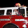 Lynnfield, Ma. 11-19-17.  Santa arrived by fire truck at the Holiday Stroll at Market Street.