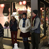 Lynnfield, Ma. 11-20-17. Andy Papas, Laura Jarvis, Kristen Sweeney, Quinn Bernegger, all members of Songful Artists, carroling at Holiday Stroll at Market Street.