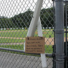 Saugus, Ma. 8-14-17. The drain pip that was destroyed by vandals at World Series Park in Saugus.