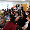 Lynn, Ma. 8-3-17. There was a capacity crowd at the pay for Success Project launch at 10 Church Street today.
