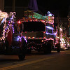 Lynn, Ma. 12-24-17. The Christmas parade heads down Summer Street to begin its journey through the city.