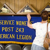 Sept. 16, 2017. Grand Army of the Republic Museum tours, Lynn. Kathy Bertrand looks at an exhibit featuring artifacts from the Ex-Service Women's Post 243 American Legion.