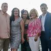 From left, Darren Cyr, Bridget Kimball, Celia, Birgitta Damon and Taso Nikolakopoulos were instrumental in putting together LEO's Greek Night fundraiser at Volunteer Yacht Club in Lynn.