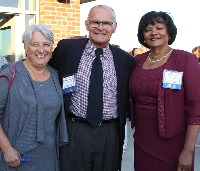 Lynn, Ma. 8-31-17. This years winners fo the Excellence in Literacy Leadership Award are Jan Plourde, Founder & CEO of The REAL Program, Robert J. Hildreth, Philanthropist, Founder of Inversant, Co-Founder of La Vida, and Maria Carrasco, Lynn School Committee Member, Community Activist.