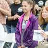 09/16/2017. Round Hill Historical Site, Saugus. Bicentennial anniversary of the incorporation of Saugus and time capsule burial. Saugus fourth-grader Samantha Murray stands to be recognized for winning a writing contest.