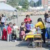 Sept. 16, 2017. Lynn Heritage Park. Lynn World Music Festival. Event attendees visited tables from local vendors along the boardwalk while enjoying the music.