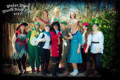 St. Mary's Primary School Staff on World Book Day 2017