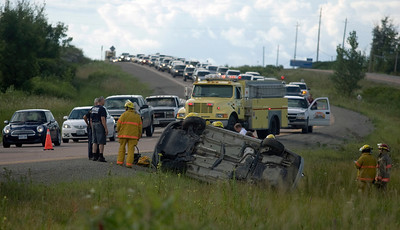 Car accident on highway 400