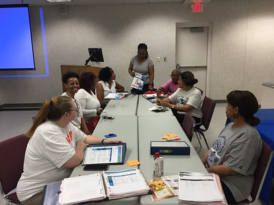 Cooperative Extension Specialist Debra S. Jones, leads a diabetes prevention program in which participants learned how to eat healthier, increase physical activity and manage stress.