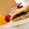 School lunch series: turkey sandwich