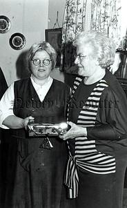 A special presentation to mrs teresa Mowhan by Etta Jenning alias Mrs Moylan