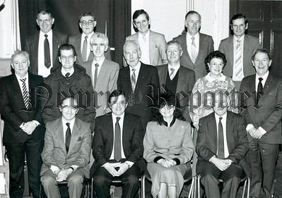 Newry Credit Union Board 1987
