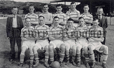 Bob Bryson was Newry Towns Player manager in 1950