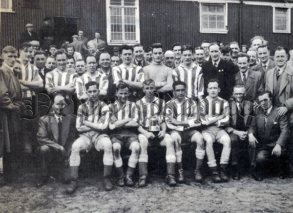 Newry won first league title in 1954 - 1955