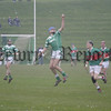 Ciaran Courtney takes a great catch in the Betsy Gray Cup final. 05W14S29.