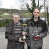 Winner of the Warrenpoint, Rostrevor and District Angling Clubs Perpetual Challenge Cup was Gary Mc Atter(right) receiving the cup from club secretary Jimmy Hagerty, 05W15S56.