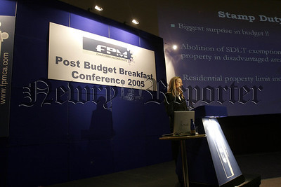 FPM. Post Budget Breaffast Conference 2005 in the Omniplex on Thursday last, 05W16N9