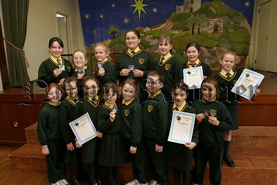 St Patricks PS Hilltown happy pupils were solo prizewinners in the Music section of Warrenpoint Feis.