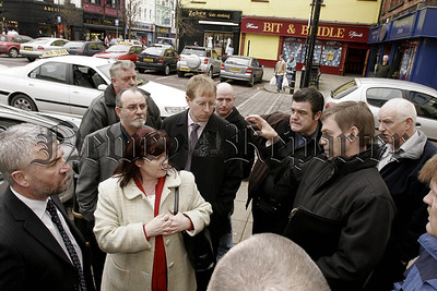 Robert Monaghan DOE speaking to Taxi Drivers and Politicans on Tuesday