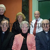 Those involved in organising the information evening on suicide awareness in the Aylesforte House. Front row l-r Canon John Kearnery, Evelyn Vallely, Canon Jim Sims, Back row l-r Sister Bronagh, Camilla Magee, Lawrence Evans and Nuala Quinn. 05W9N231