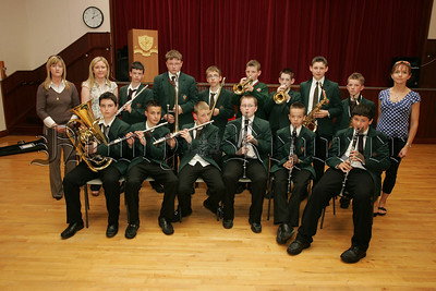 "Pictured are pupils from St Joseph's Boys' High school year 8 wind band who will hosted their annual ""Music in May"" concert recently. 07W24N20"