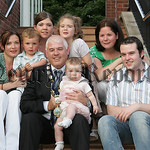New Mayor Michael Cole is pictured with his Daughters, Maria, Julie and Lorraine, His Son Michael and His Granddaughters, Colleen, Miceal and Aimee. 07W24N29