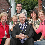 New Deputy Mayor Charlie Casey is Pictured with his Wife Bridie, Daughters Catherine and Margaret, Son Ciaran and Grandson Tiarnan. 07W24N30