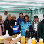 Members of the Newry Cancer research group who organised the family day in Frank Curran Park, 07W25N70