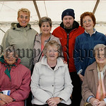 Women from the Newry U3A at the Cancer Research day in Frank Curran Park, 07W25N68