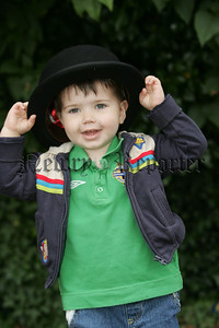 Little Harry McCartney pictured at the 12th parade in Newry City. 07W29N7