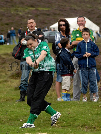 M Donnelly All Ireland Poc Fada Final. Armagh Camogie competitor Laura McGuiness. 07W32S257