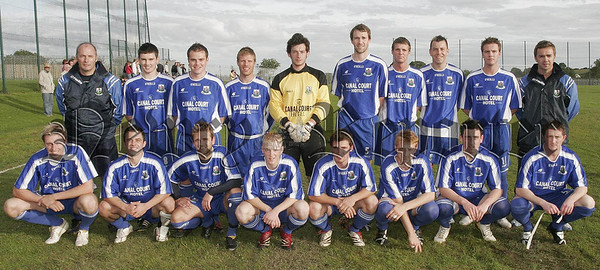 Newry City team who played Cartwheel United