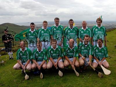 M Donnelly All Ireland Poc Fada Final, Poc Fada contestants pictured before the Start. 07W32S260