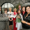 Pictured are the main sponsors of the Junior Chamber Of Commerce 007 James Bond themed gala ball to be held in the Canal Court on August 31st, With Rory Buchanan President JCI Newry are, Catherine McGinn Mac PR, Anne Haugh O'Hare Specialists Rentals, Bronagh Valentine ICS Computing, Michael Blaney Autoline Insurance, Aisling McShane Congress, Lorraine Rooney and Emma Marmion from Prestige Employment Solutions. Picture Peter Clarke. 07W33N19