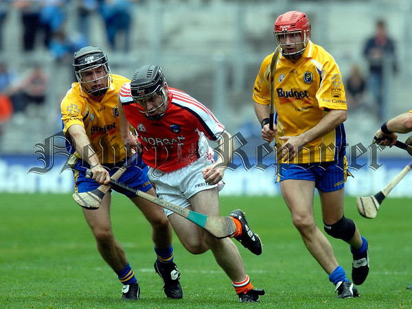 Nicky Rackard Cup Final Armagh V Roscommon. Armaghs Gerard Enright 07W33N257