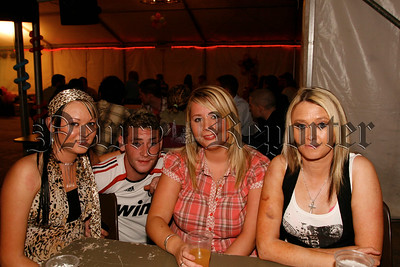 They enjoyed the big comedy night in Shane O'Neills GFC Marquee, 07W33N62